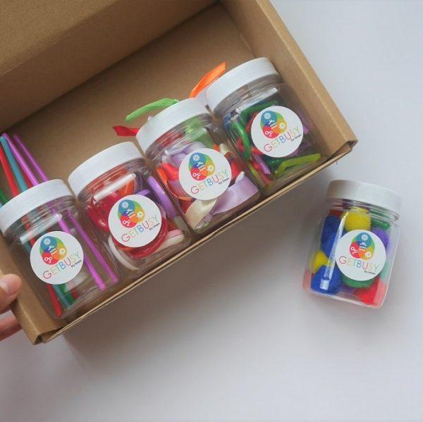 Handmade Sensory Jars