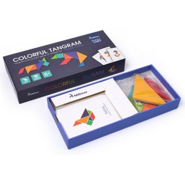 Colorful Tangram Puzzle