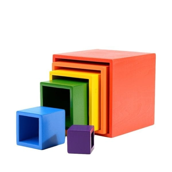 Rainbow Nesting Box (6 pieces)