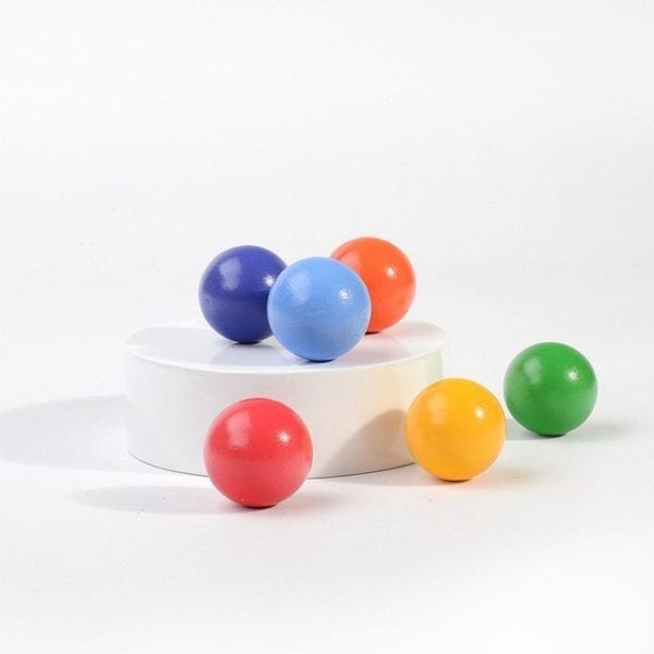 Rainbow Balls (6 pieces)