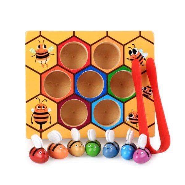 Beehive Color Matching Game
