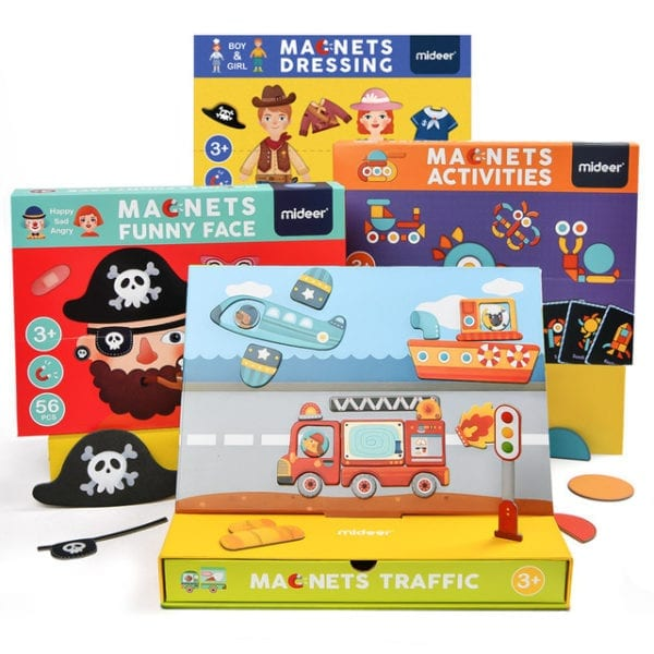 Magnetic Puzzle Learning Kit