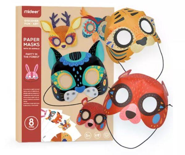 Animal 3D Paper Mask