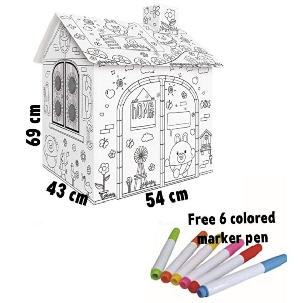 Doodle Cardboard House