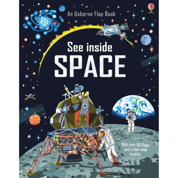 Usborne Lift The Flap See Inside Space