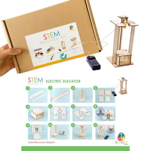 Stem Wooden Kit (electric elevator)