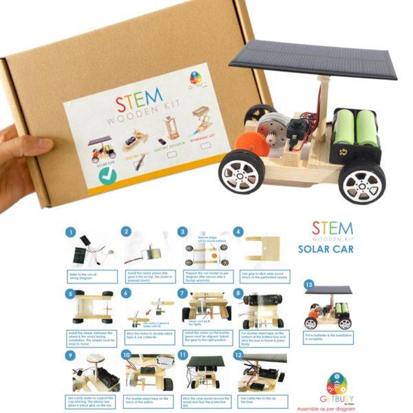 Stem Wooden Kit (solar car)