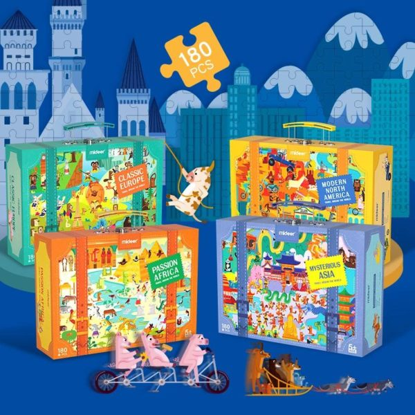 Travel Around The World Puzzle Collection