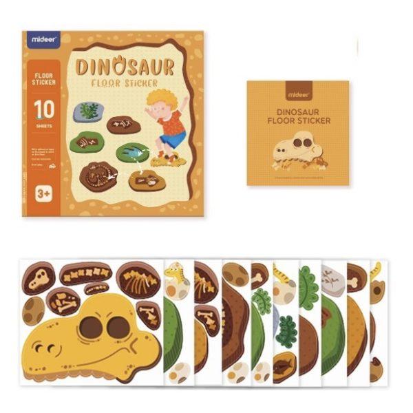 Hopscotch Floor Stickers (Dinosaur)