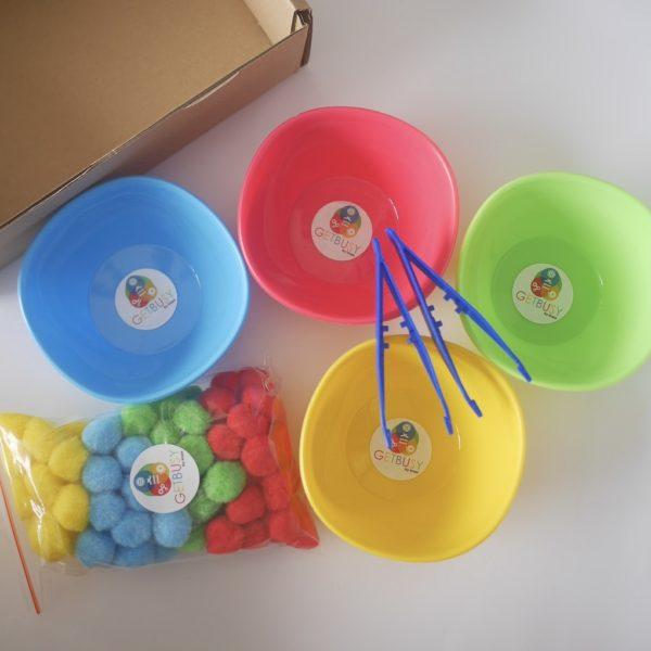 Sensory Color Bowls