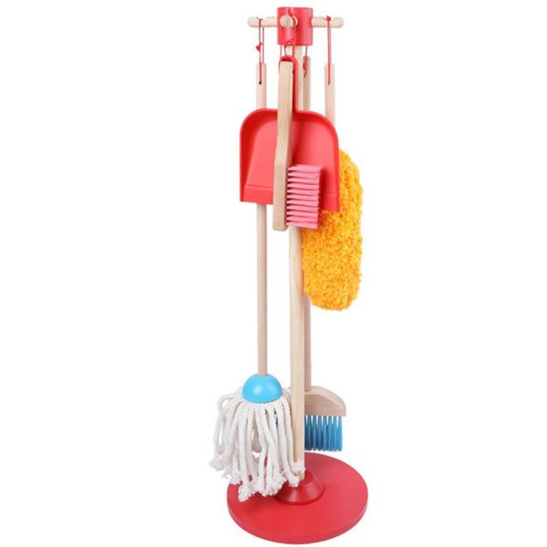 Wooden Cleaning Set