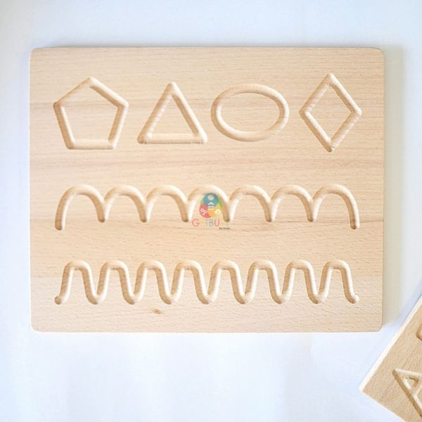 wooden tracing board