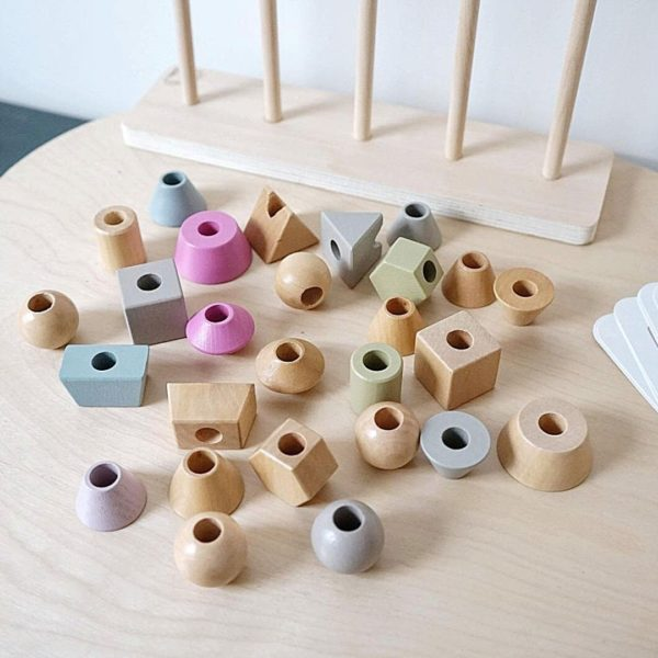 Shapes Stacker Puzzle