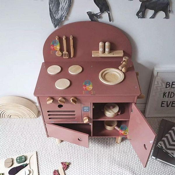 Premium Wooden Kitchen Set