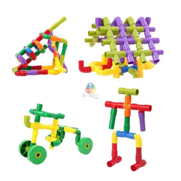 Pipe Building Blocks